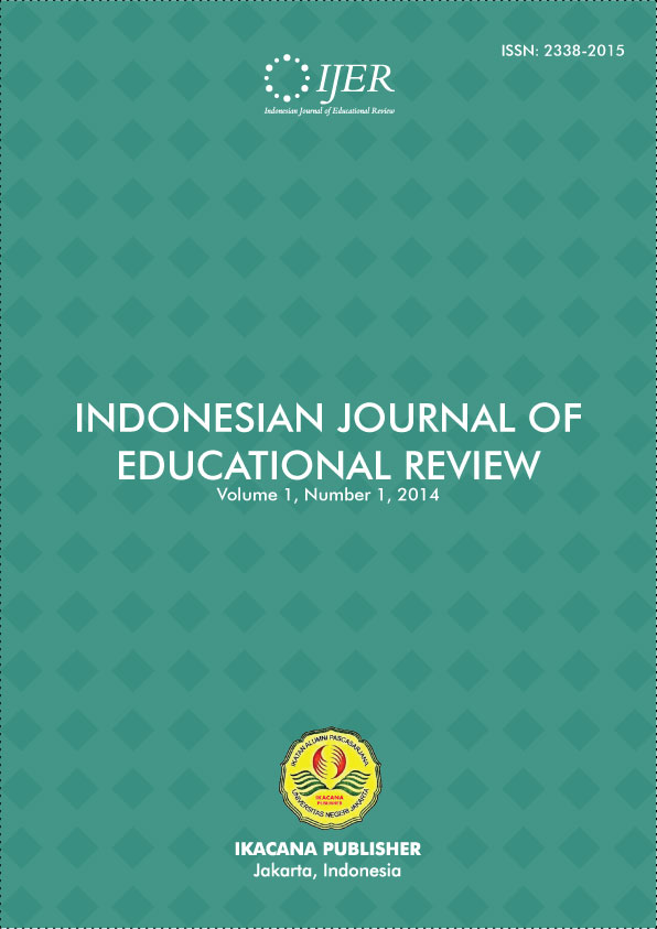 Indonesian Journal of Educational Review
