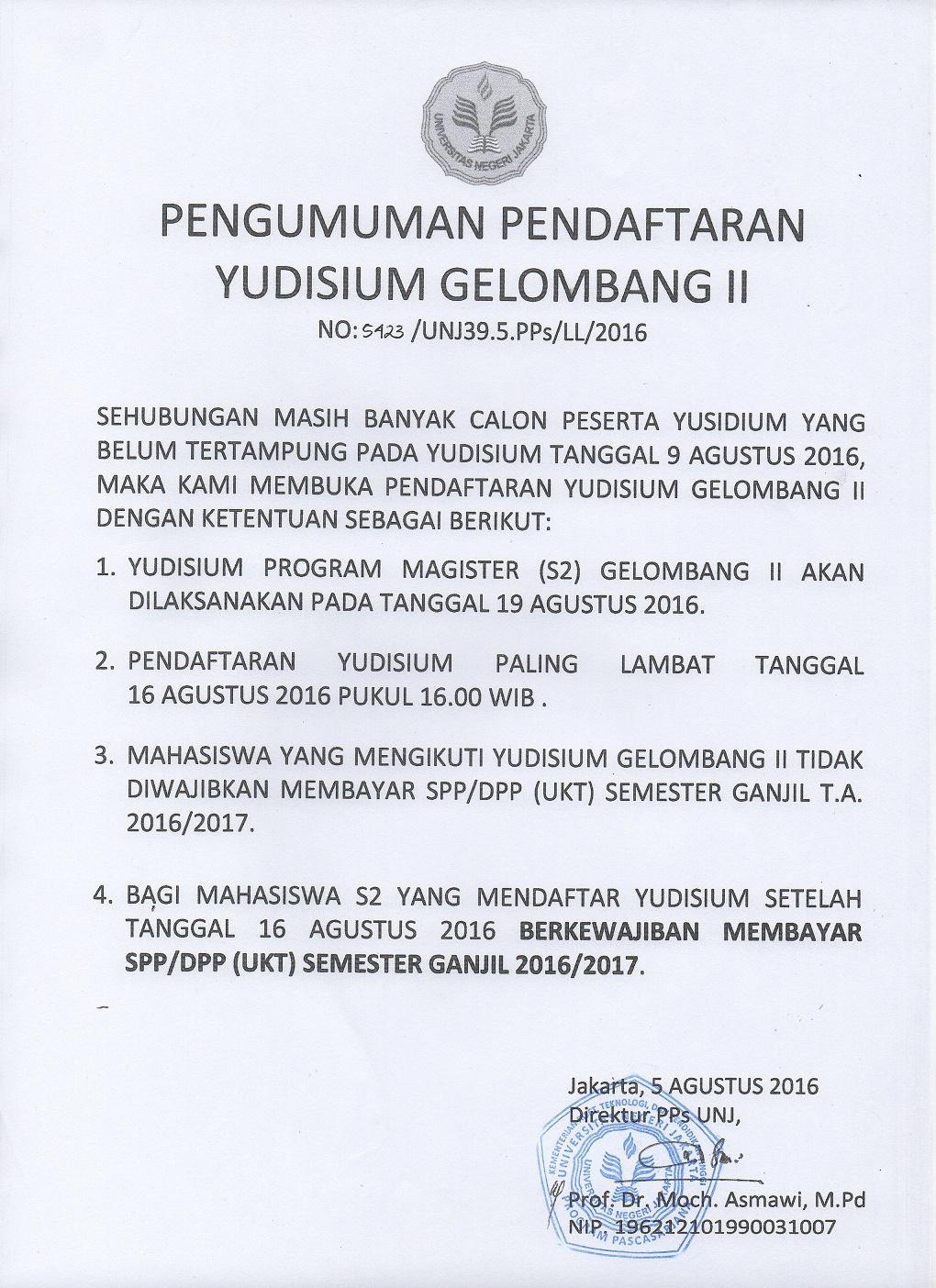 Yudisium 2