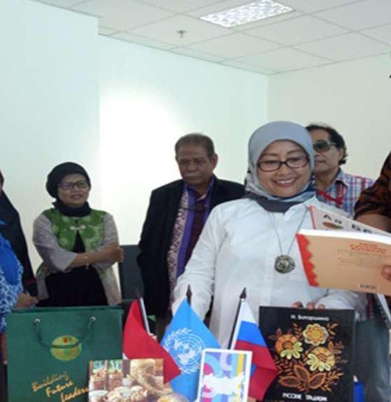Kunjungan Ural Federal University ke Pascasarjana Universitas Negeri Jakarta