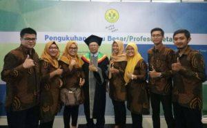 Pengukuhan Guru Besar Prof. Dr. M. Syarif Sumantri, M.Pd