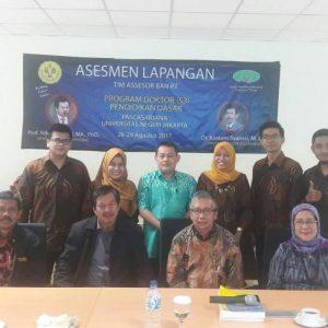Kegiatan Visitasi Prodi Program Doktor Pendidikan Dasar Pada Tahun 2017