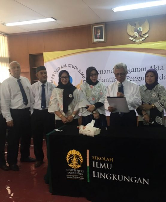 Prof.Dr.Nadiroh,MPd. menjadi Pimpinan Asosiasi Perkumpulan Program Studi Ilmu Lingkungan