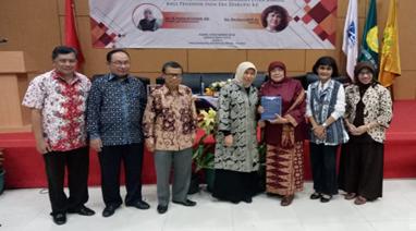 """Seminar """"Membangun Jiwa Kewirausahaan Berbasis Etika Bahasa  bagi Pendidik pada Era Disrupsi 4.0"""""""
