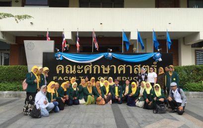 KKL Program Studi Magister dan Doktor Anak Usia Dini Pascasarjana UNJ Ke Thailand