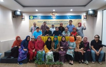 Rapat Kerja Pimpinan Pascasarjana Universitas Negeri Jakarta