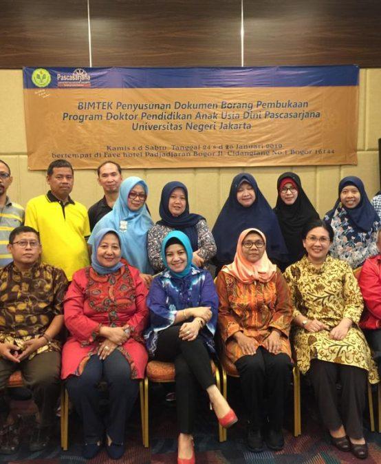 Kegiatan Perbaikan Borang pembukaan Prodi Doktor PAUD Pascasarjana UNJ