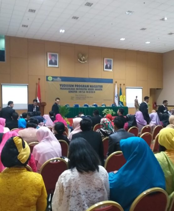 Yudisium Program Magister Pascasarjana Universitas Negeri Jakarta Tahun 2019