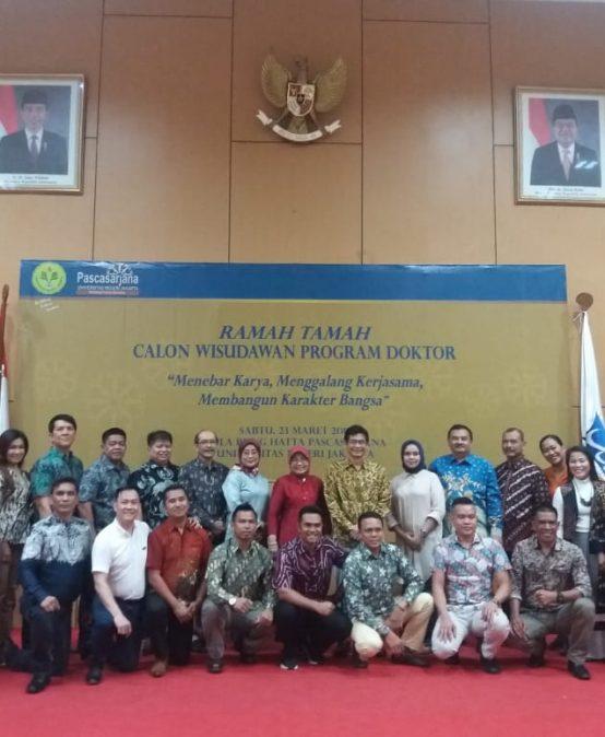 Ramah Tamah Wisudawan Program Doktor Pascasarjana Universitas Negeri Jakarta