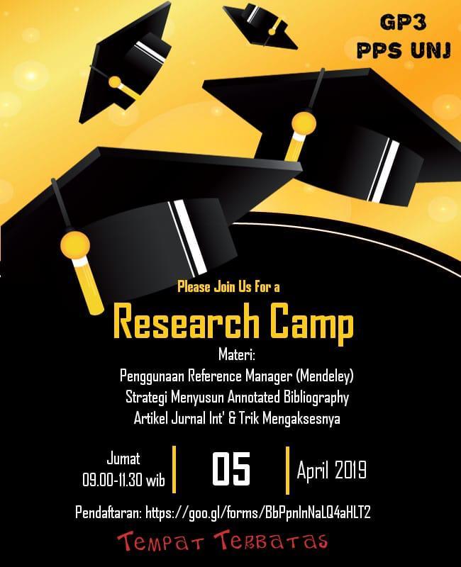 Research Camp GP3 UNJ