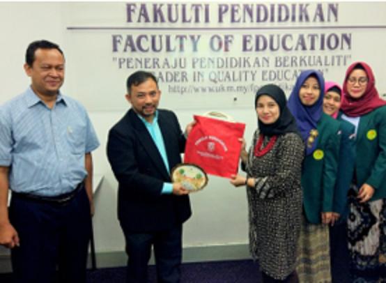Kunjungan Ke Fakulti Pendidikan Universiti Kebangsaan Malaysia (UKM)  -29 April 2019
