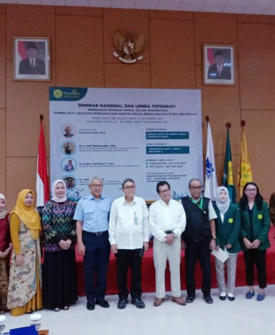 PKLH UNJ menggelar Seminar Nasional Kemaritiman