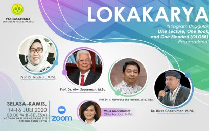 """Lokakarya Program Unggulan  """"One Lecture, One Book, and One Blended (OLOBB)"""""""