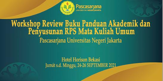 Review BPA dan Penyusunan RPS Mata Kuliah Umum Pascasarjana UNJ